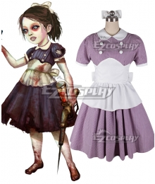 BioShock Little Sister Cosplay Costume - Pink