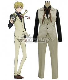 Bungou Stray Dogs Doppo Kunikida Cosplay Costume