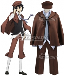 Bungou Stray Dogs Ranpo Edogawa Cosplay Costume