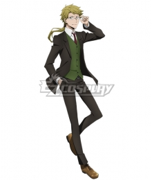 Bungou Stray Dogs Doppo Kunikida Suit Cosplay Costume