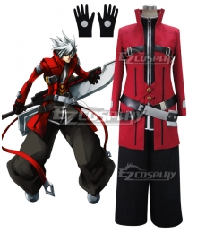 Blazblue Ragna the Bloodedge Grim Reaper Cosplay Costume