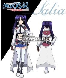 Cross Ange Tenshi to Ryu no Rinbu Salia Cosplay Costume