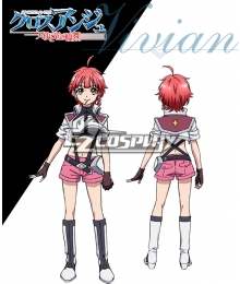 Cross Ange Tenshi to Ryu no Rinbu Vivian Cosplay Costume