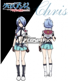 Cross Ange Tenshi to Ryu no Rinbu Chris Cosplay Costume