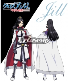 Cross Ange Tenshi to Ryu no Rinbu Jill Cosplay Costume