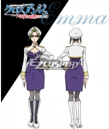 Cross Ange Tenshi to Ryu no Rinbu Emma Cosplay Costume