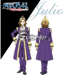 Cross Ange Tenshi to Ryu no Rinbu Julio Cosplay Costume