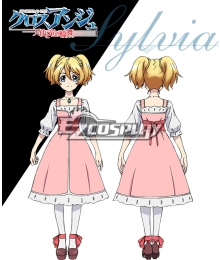 Cross Ange Tenshi to Ryu no Rinbu Sylvia Cosplay Costume