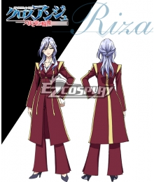 Cross Ange Tenshi to Ryu no Rinbu Riza Cosplay Costume