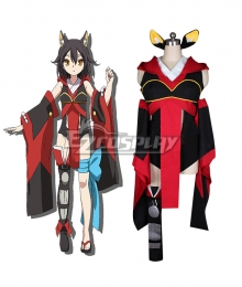Chaos Dragon Sekiryuu Senyaku Keiosu Doragon Red Dragon Eiha Cosplay Costume