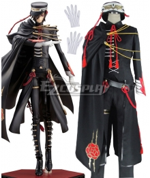 Code Geass Code Black in Ashford Lelouch Lamperouge Lelouch vi Britannia Cosplay Costume