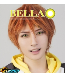 Bella Eye CosCon Free! Iwatobi Swim Club Iwatobi High School Mikoshiba Momotaro Yellow Cosplay Contact Lense