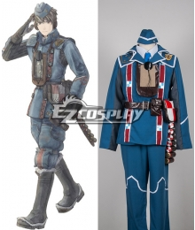 Valkyria Chronicles Welkin Gunther Cosplay Costume