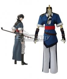 Fire Emblem: Awakening Lonqu Ronku Ronkuu Cosplay Costume