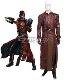 Marvel Guardians of the Galaxy Peter Quill Star Lord Cosplay Costume