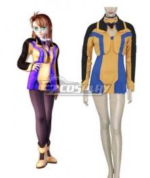 XenoSaga I Shion Uzuki Vector Uniform Cosplay Costume
