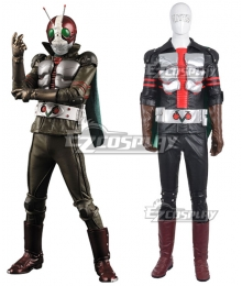 Masked Rider The Next Kamen Rider V3 Shiro Kazami Cosplay Costume