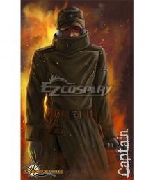Hellsing Ova The Captain Cosplay Costume