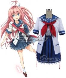 Aokana Four Rhythm Across the Blue Asuka Kurashina Cosplay Costume