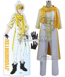 Mr. Osomatsu San Jyushimatsu Matsuno Yellow Cosplay Costume