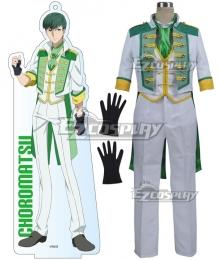 Mr. Osomatsu San Choromatsu Matsuno Green Cosplay Costume