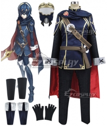 Fire Emblem Awakening Marth Lucina Black Cosplay Costume