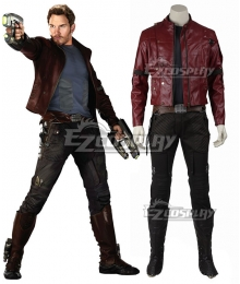 Marvel Guardians of the Galaxy Star-Lord Peter Jason Quill Cosplay Costume
