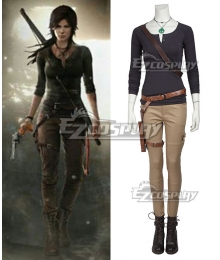 Tomb Raider Season Lara Croft  Outfits Cosplay Costume - No Boots