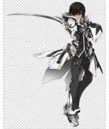 Elsword Raven Blade Master  Cosplay Costume