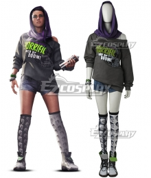 Watch Dogs 2 Sitara Cosplay Costume - Including Boot
