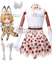 Kemono Friends Serval Uniform Cosplay Costume