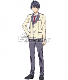 Aho Girl Akuru Akutsu Cosplay Costume