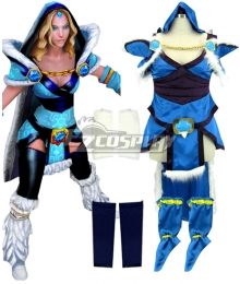 Dota 2 Crystal Maiden Cosplay Costume