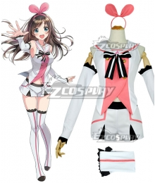 YouTuber Kizuna AI A.I.Channel A.I.Games Cosplay Costume