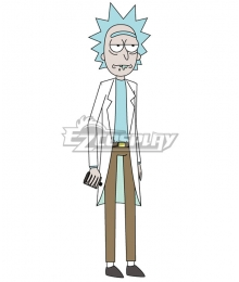 Rick and Morty Rick Sanchez Cosplay Costume