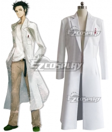 Steins;Gate Steins Gate Rintaro Okabe Coat Cosplay Costume