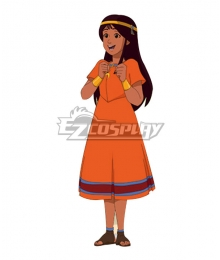 The Mysterious Cities of Gold Zia Cosplay Costume