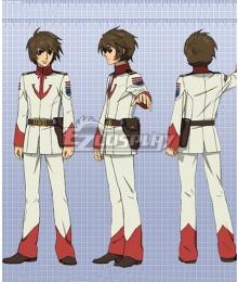 Space Battleship Yamato 2199 Susumu Kodai Cosplay Costume