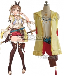 Atelier Ryza: Ever Darkness & the Secret Hideout Reisalin Stout Raizarin Shutauto Raiza Cosplay Costume