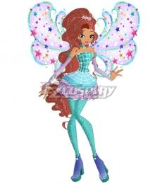 Winx Club Crown Princess Aisha Cosplay Costume