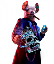 Watch Dogs: Legion Pig Halloween Cosplay Costume