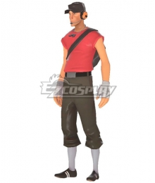 Team Fortress 2 Scout Cosplay Costume