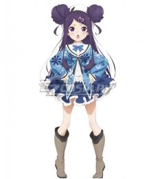 Dropout Idol Fruit Tart Ochikobore Furutsu Taruto Roko Sekino Cosplay Costume