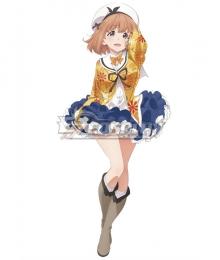 Dropout Idol Fruit Tart Ochikobore Furutsu Taruto Nina Maehara Cosplay Costume
