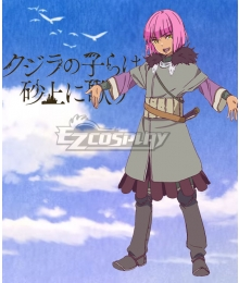Children of the Whales Kujira no Kora wa Sajou ni Utau Ryodari Cosplay Costume