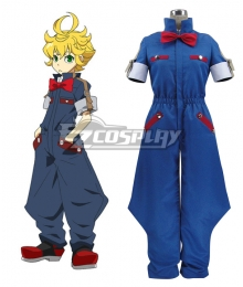 Concrete Revolutio Konkuriito Reborutio Choujin Gensou Fuu Routa Cosplay Costume