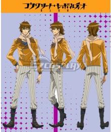 Concrete Revolutio Konkuriito Reborutio Choujin Gensou Yoshimura Hyouma Cosplay Costume