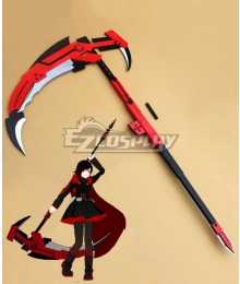 RWBY Leader of Team RWBY Ruby Rose High-Caliber Sniper-Scythe HCSS Crescent Rose A Cosplay Weapon Prop