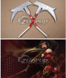League of Legends Nurse Akali Cosplay Weapon Prop