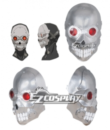 Sword Art Online II GGO Gun Gale Online Shinkawa Shouichi's Creation Death Gun Desu Gan Sterben Mask Cosplay Accessory
